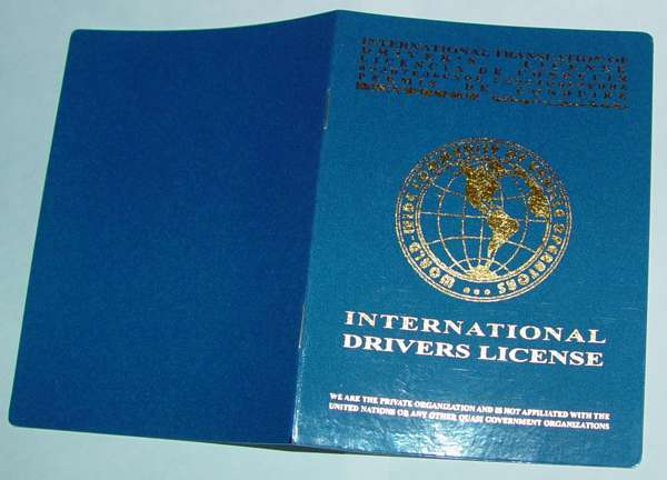 international drivers license